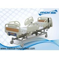 Buy cheap 3 Function Folding Semi Fowler Medical Bed , Ward / ICU Bed For Patient from wholesalers