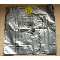 Buy cheap Silver Fragil PE Plastic grocery Bags , Degradable Supermarket Plastic Bags 260mm product