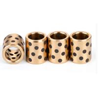 Buy cheap 60N/Mm² Solid Bronze Plain Bearings With Lubricating Plugs product
