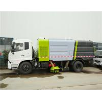 Buy cheap 4x2 Multifunctional Cleaning Strong Power Road Sweeper Truck from wholesalers