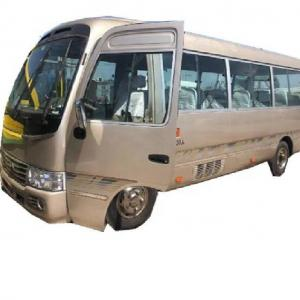 Buy cheap Left Hand 50000Miles Used Coaster Bus Manual Transmission Type product