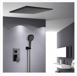 Buy cheap Contemporary Shower Wall Faucet Black Matte Single Handle Under Water Faucet 20.5cm product