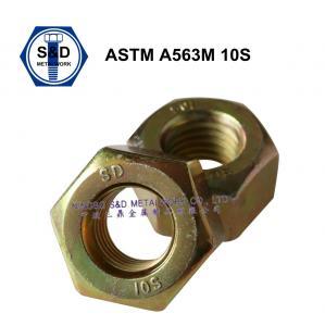 Buy cheap ナットの重い六角形の構造ナットASTM A563Mの炭素鋼および合金鋼 product