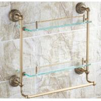 Buy cheap Newly constructed Custom home clear float glass shelf brackets for keeping space unclutter product