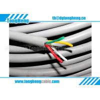 China Grease Oil Resistant Silicone Inner Insulated Customized Silicone Rubber Cable on sale