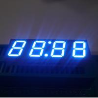 Buy cheap Ultra Blue LED Clock Display , 7 Segment LED Display 4 Digit For Microwave Oven product