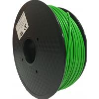 Buy cheap Multi Color 2.2 Lbs 1 Kg PLA 3D Printer Filament 1.75mm 2.85mm Green Yellow product