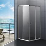 China Sliding Bathroom Shower Enclosure  800x800 Corner Entry Shower door 6Y6522 wholesale