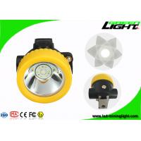 China Portable Cordless LED Mining Light Rechargeable Headlamp 2.2Ah Lithium Ion Battery on sale