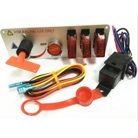 Buy cheap RACING Carbon Fiber Racing Car 12V Ignition Switch Panel product