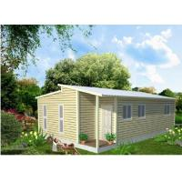 Buy cheap Light Steel Structure Frame Construction Prefabricated Granny Flat Homes product