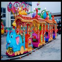 Buy cheap Hot-sale Big Elephant Kiddie Train Ride/Amusement Park Train Rides for Sale product