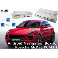 Buy cheap 16GB Flash Quad core 1.6GHz Android Navigation Box for 2010-2016 Porsche Macan (PCM 3.1) product