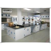 Buy cheap Waterproof PP Lab Bench With Reagent Shelves In Chemistry Laboratory product