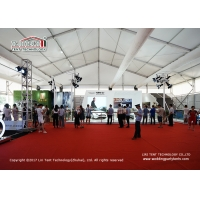 Buy cheap High Quality Aluminum Exhibition Tent 50x115m Waterproof PVC Sidewall product