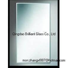 China 3mm、4mm、5mmの保護フィルムが付いている6mmの銀製ミラー wholesale