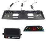 Buy cheap Waterproof Car Reverse Parking Sensor Kit With 3 Sensors And LED Display product