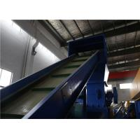 Buy cheap Industrial PP PE Film Washing Line Plastic Recycling High Speed Washing product