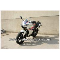 Buy cheap Blue And White Honda Sports Car CBR200 Drag Racing Motorcycles With Air Cooling product