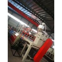 Buy cheap Green Color Floor Mat Making Machine Heat Insulation 46*5*4m Dimension product