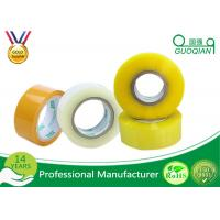 Buy cheap 80M Length Clear Water Resistant Bopp Adhesive Tape High Temperature product