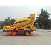 Buy cheap 4 M3 mobile self loading concrete mixer with Cummins engine self-loading concrete mixer truck for sale product