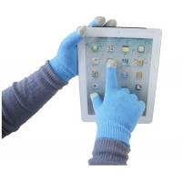 Buy cheap Fashionable Knitted Touch Gloves for iPhone/iPad and iTouch, Made of Mixed from wholesalers
