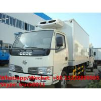 Buy cheap 2019s new customized 3-4tons refrigerator truck with double temperature areas for sale, dual-temperature cold room truck product