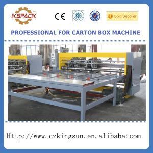 Buy cheap YFQ-B semi-automatic corrugated box slotter machine product