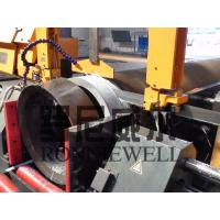 Buy cheap High Speed Beveling Pipe Prefabrication Line Automatic With Band Saw product