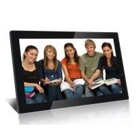 Quality Big 21.5 Inch FHD High Resolution Digital Picture Frame With Video Loop Play for sale