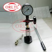 Buy cheap Diesel Injector Nozzle Pop Tester Equivalent Design Model EFEP 60 H Common Rail Injector Nozzle Tester Quality SS Body product