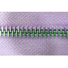 Buy cheap Multicolor metal zipper rainbow teeth metal zipper Attractive special 5# from wholesalers