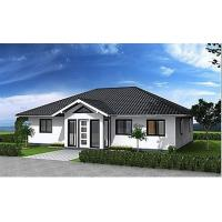 Buy cheap Hurricane Resist Prefabricated Bungalow , Steel Structure Bungalow House product