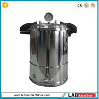China Test Autoclave Steam Sterilizer Accelerated Aging Chamber 18L Industrial Vertical 50-128 ℃ wholesale