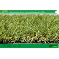 Buy cheap PE Monofilament PP Curl Garden Artificial Grass 4 tone Color Synthetic Turf For Landscaping product