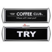 China PET roller banner for advertising on sale