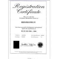 Jingli Package Prouducts co.,limited Certifications