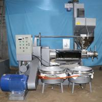 Buy cheap Sunflower Screw Oil Press Machine Oil Pure And Fragrant 400-750 Kg/H product