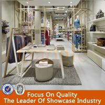 Buy cheap new design ladies clothes shop decoration furniture/clothes shop counters product