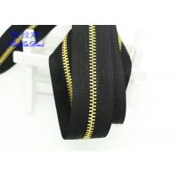 Buy cheap H65 Brass 40 Inch  / 48 Inch Separating Zipper  , Heavy Duty Metal Zippers For Coats product