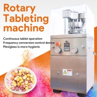 Buy cheap Swansoft ZP-9 Herbal Pill Automatic Rotary Tablet And Candy Pressing Machine product