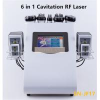 Quality HOT 6 in 1 Vacuum Ultrasound Cavitation RF machine for beauty salon/ home use for sale
