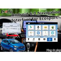 Buy cheap Plug&Play Android Auto Interface for Ford Ecosport Fiesta Focus Kuga with Live Navigation 3D Map Miracast from wholesalers