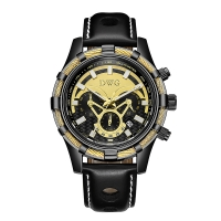 Buy cheap Trend Design Analog Dial 3ATM Quartz Leather Watches product