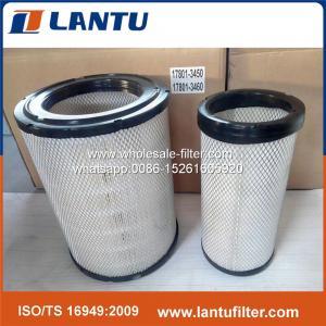 Buy cheap 17801-3450+17801-3460陶磁器の製造業者からのHINOのための大型トラックのエア フィルター product