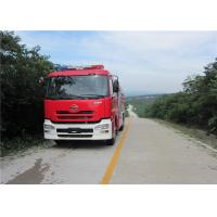 Buy cheap Speed Ratio 1.48 Water Tanker Fire Truck Six Seats Water Shot Range ≥75m product