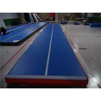 Buy cheap 33cm Inflatable Gymnastics Mat Blow Up Tumbling Mat For Cheerleading Club product
