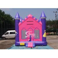 Buy cheap 13x13 outdoor kids party PrincessInflatable Bounce House with 18 OZ PVC Tarpaulin product