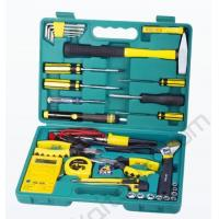 Buy cheap 31 pcs telecom tool set ,with multimeter,soldering iron ,solder wire ,pliers,wrech product